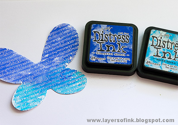 Layers of ink - Dimensional Butterfly Card Tutorial by Anna-Karin with Sizzix Stephanie Barnard Butterfly Fold Its