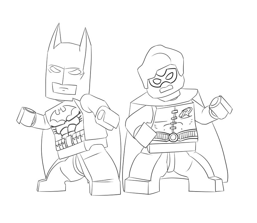 Famoso Lego Nightwing Para Colorear Embellecimiento - Ideas Para ...