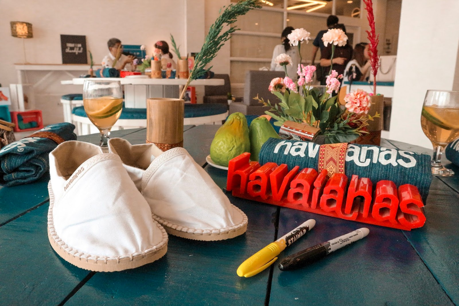 Havaianas Obrigada 2019 - Paint Your Own Origine