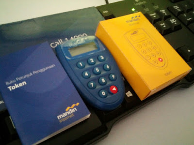 Token Bank Mandiri + Manual Book