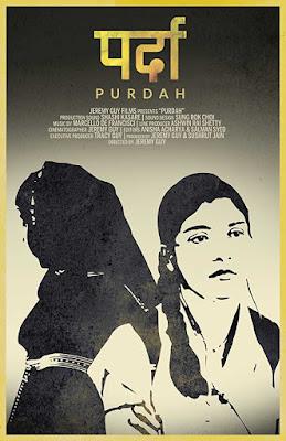 Poster Purdah 2018 Hindi HD 720p