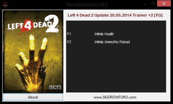 Left 4 Dead 2 - v1 0 +2 Trainer   Game Trainers