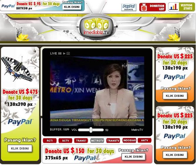 Sctv Live Stream: Cara Pasang Tv Online Di Blog