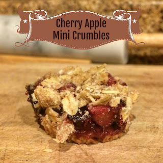 The Dreams Weaver ~ Cherry Apple Mini Crumbles