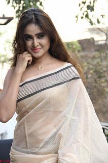 Sony Charishta in Brown saree Cute Beauty   IMG 3592 1600x1067.JPG
