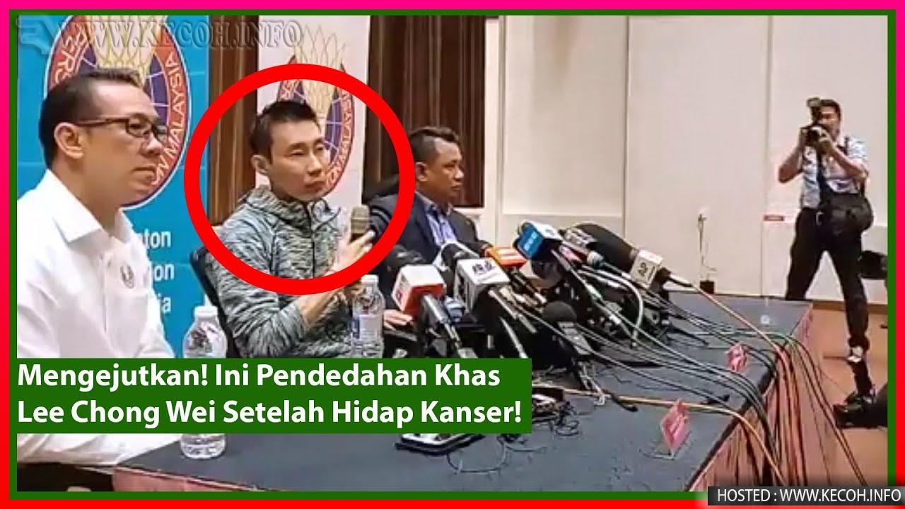 Datuk Lee Chong Wei Hidapi Kanser? Ini Pendedahan Baru Dari Beliau Sendiri