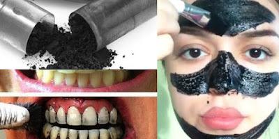 Utilisations du charbon actif pour la beauté et la santé