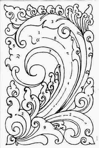 Contoh Gambar Ornamen : contoh, gambar, ornamen, Gambar, Ornamen, Flora, Paling, Keren, Pixabay