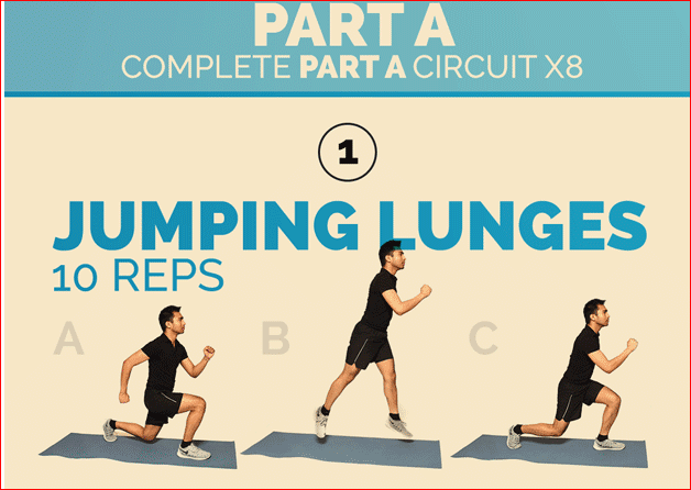 Jumping Lunges1