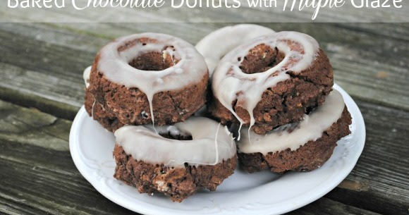 Serenity Now Homemade Baked Chocolate Donuts With Maple Glaze