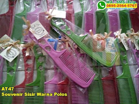 Harga Souvenir Sisir Warna Polos