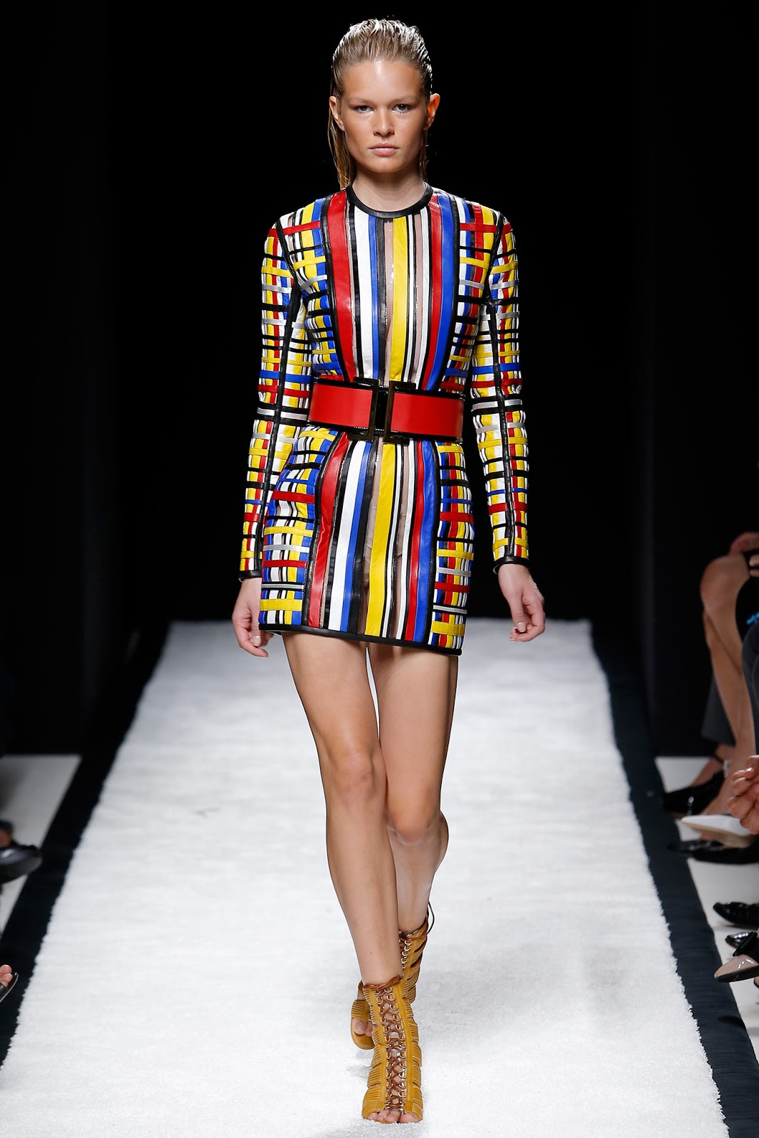 Always Late: Friday Inspiration: The Mondrian Art in Fashion