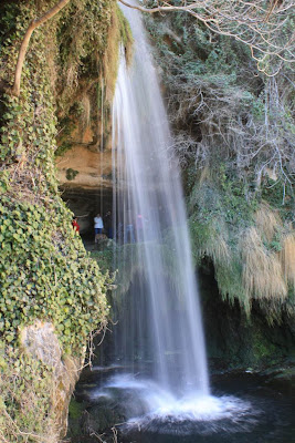 Waterfall in Sant Miquel del Fai