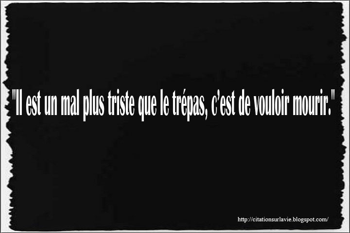 Citations triste sur la vie ~ Citation sur la vie