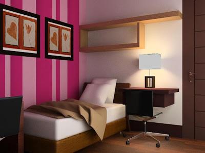 gambar desain tempat tidur kecil minimalis - desain gambar