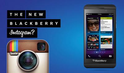 Instagram untuk Blackberry