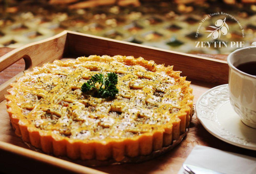 Pie Daging Asap - Zeytin Pie