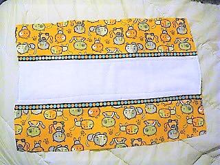 No Sew Burp Cloth