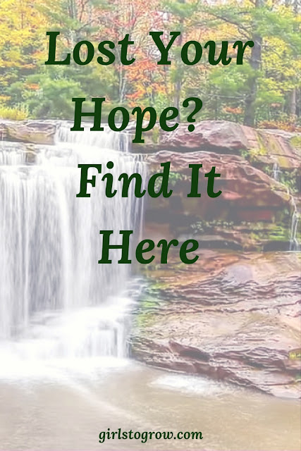 Lost Your Hope? Find It Here