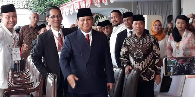 Prabowo jadi inspektur upacara HUT RI di kampus UBK