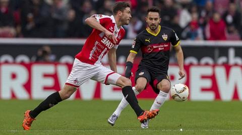 2 đội bóng Nurnberg và Mainz gặp nhau