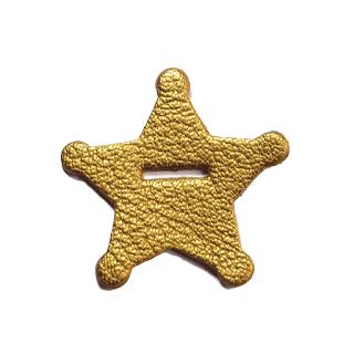 accessoires bébé enfant mode jouer étoile dorée