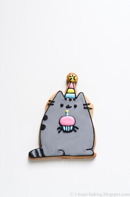 I Heart Baking Pusheen Cookies