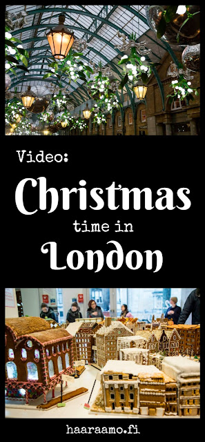 Christmas time in London