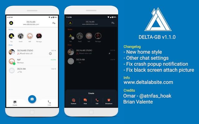 Download Delta GB WhatsApp Apk