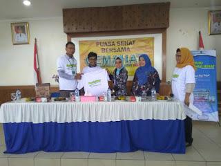 Cek Kesehatan Gratis kpd Warga Kel. Warakas bersama GEMAHATI & SUSU HAJI SEHAT, 26 Mei 2017 Jakarta Utara