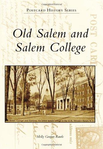 Old Salem Nc Map.North Carolina Literary Map Blog Christmas In Old Salem