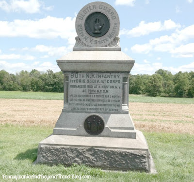 80th New York Volunteer Infantry Regiment Monument - Gettysburg Battlefield