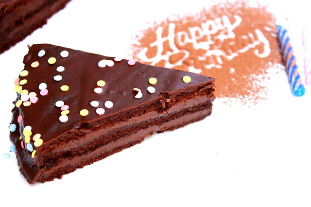Slika dečije čokoladne torte za rodjendane