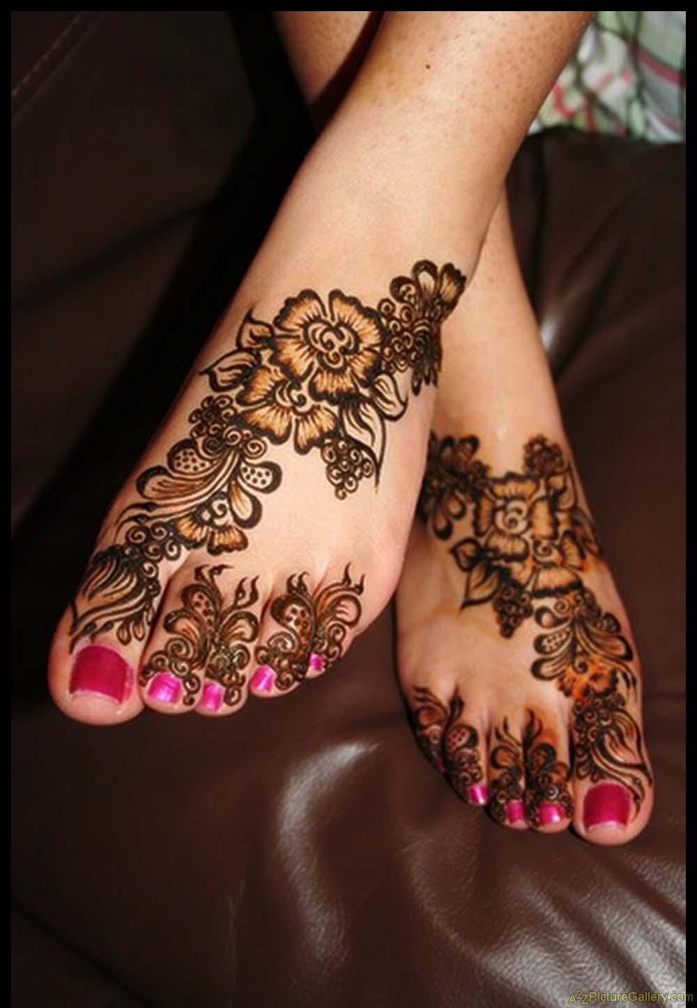 Mehndi Flower Tattoo Designs: Flower Henna Designs