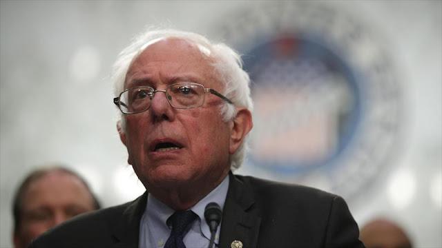 Sanders: Riad promueve 'doctrina wahabí extremadamente radical'