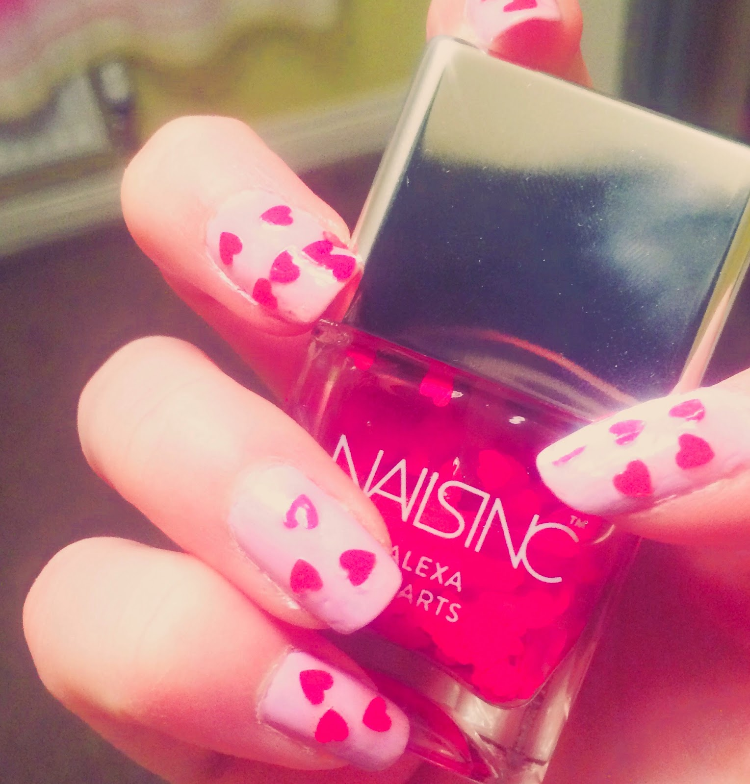 Alexa Chung X Nails Inc Hearts Review