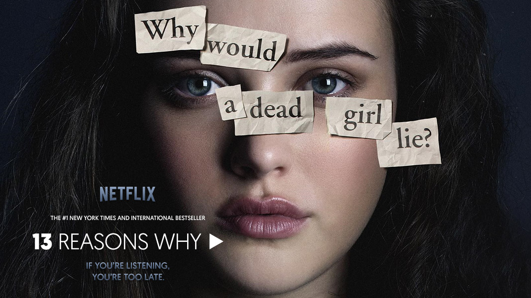 Cartel de 13 Reasons Why