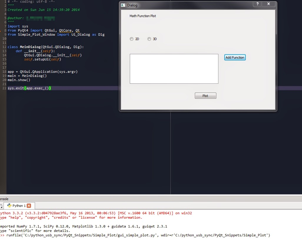 Your first GUI app with Python and PyQt Programming Python