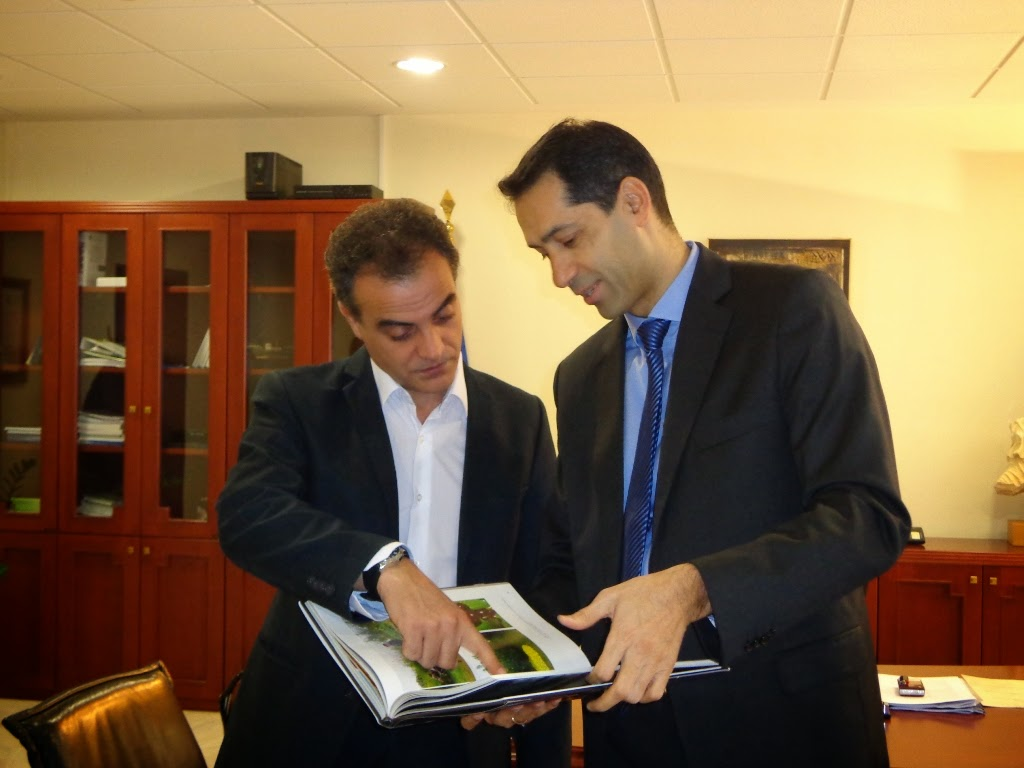 Στρατηγική επιλογή της Περιφέρειας Δυτικής Μακεδονίας  να αναδειχθεί ο TAP σε αναπτυξιακό άξονα - Επίσκεψη του Αζέρου Πρέσβη στον Περιφερειάρχη Δυτικής Μακεδονίας