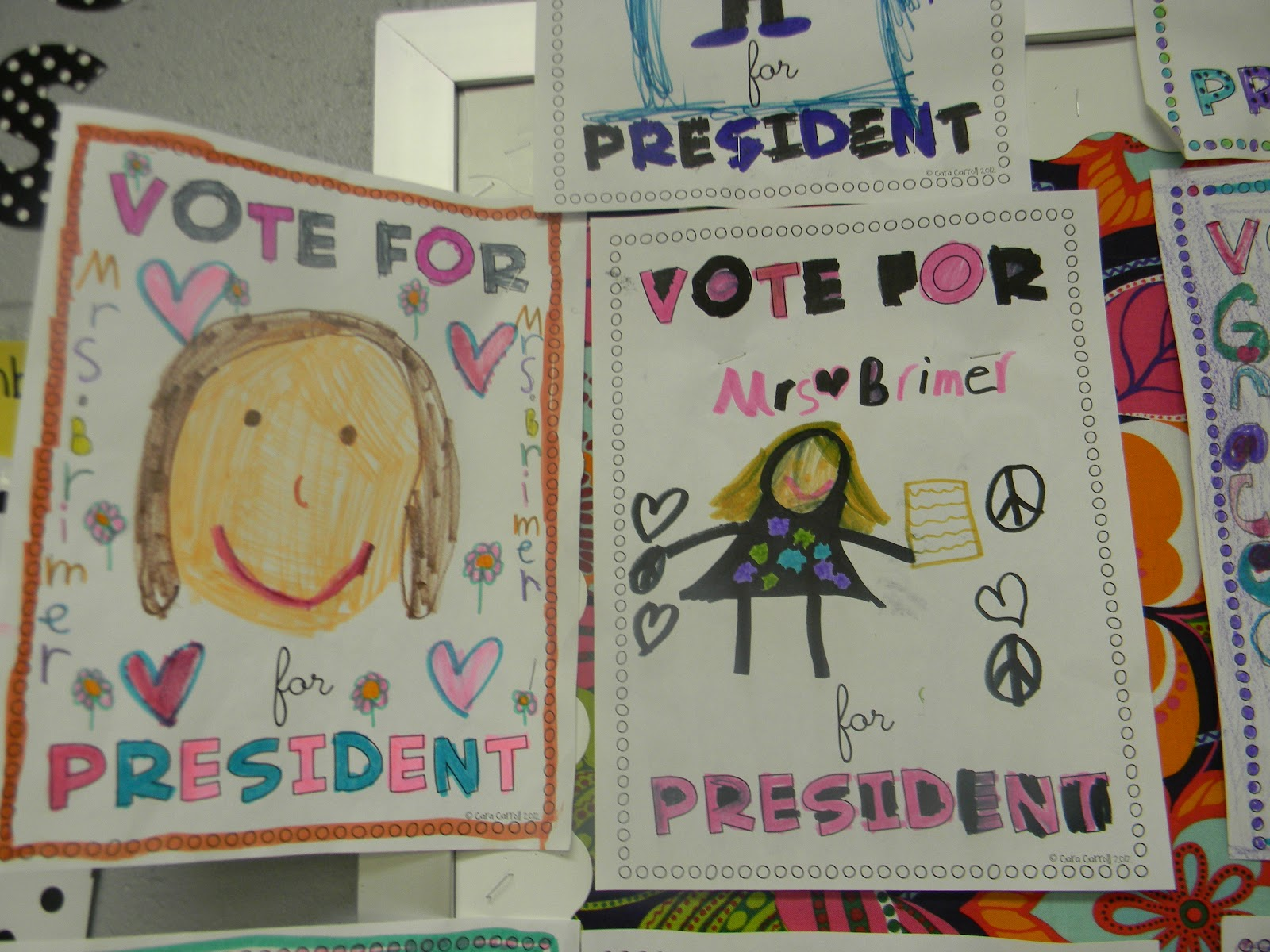 Sunny Days In 2nd Grade Election Fever Hit 2nd Grade