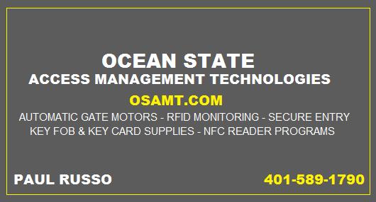 Ocean State Access Management Technologies: Handheld 125KHz