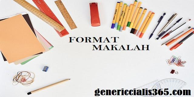 Format Makalah Lengkap Beserta Contohnya