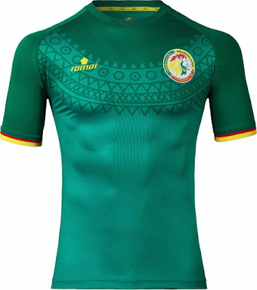 b59a87960 Senegal 2017 AFCON Home and Away Kits Released - Footy Headlines