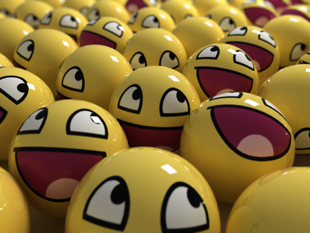 Pin on 7 wallpapers |Funny Smiley Faces Wallpaper