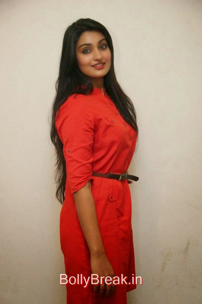 Jai Quehaeni Unseen Stills, Actress Jai Quehaeni Hot Pics in red Dress