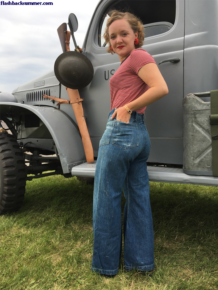 Flashback Summer: Reproduction 1940s WWII US Navy Dungarees