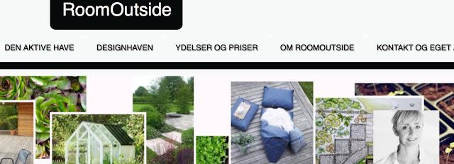 Billede af RoomOutside.dk hjemmeside