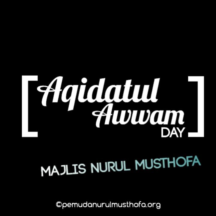 Download Wallpaper Aqidatul awwam day