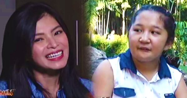 Angel Locsin Admires the 13-Year-Old Swimmer Jhonalyn Hernando! She Even Gave Her A Piece Of Advice!