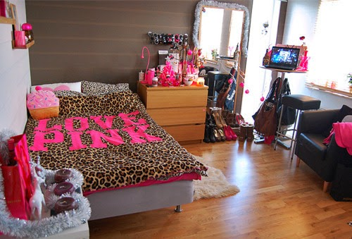 Decoración dormitorio animal print